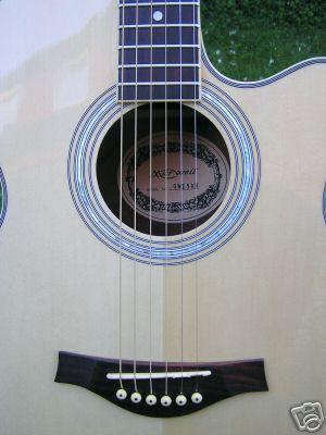 Jumbo Westerngitarre